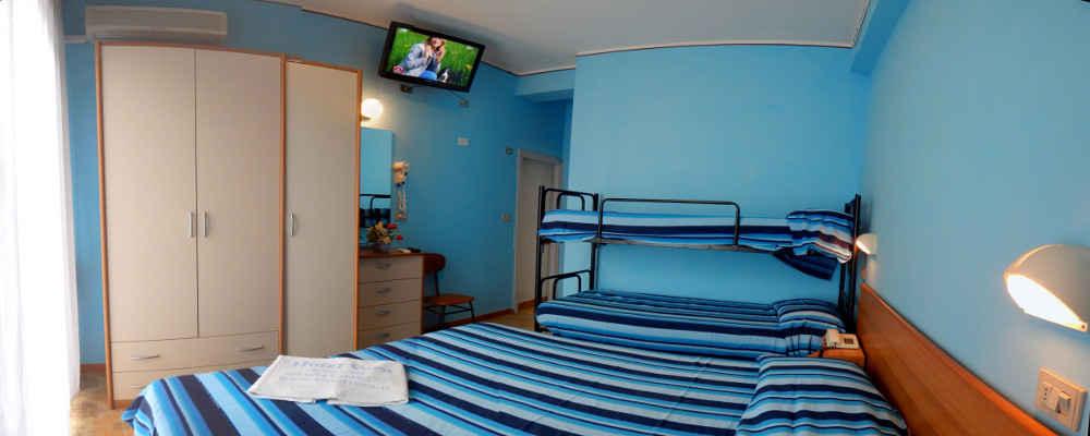Hotel vera riccione for Sito camera